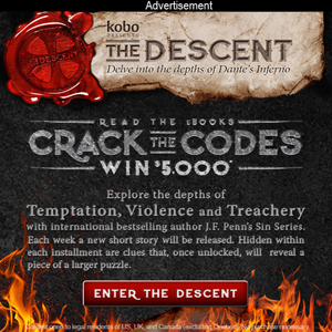 Crack the Codes - Win $5000