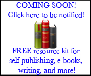 Self Publishing Resources Sign Up